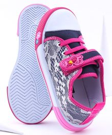 Cute Walk by Babyhug Casual Shoes - Navy Pink