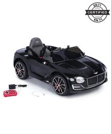 Battery Operated Ride on Bentley Car With Parental Remote - Black