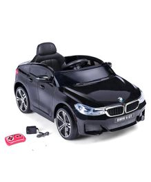 BMW GT Battery Operated Ride On Car With Remote Control - Black
