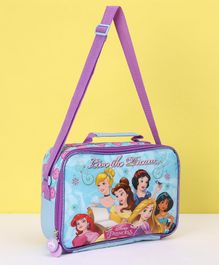 Disney Princess Lunch Box Bag - Blue