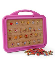 Funworld 2 In 1 ABC Puzzle Slate (Color May Vary)