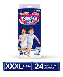 MamyPoko Extra Absorb Pant Style Diaper XXX Large Size - 24 Pieces