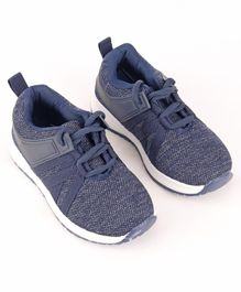 Cute Walk by Babyhug Sports Shoes - Navy Blue