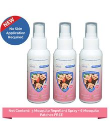 Safe-O-Kid Mosquito Repellent Spray Pack Of 3 - 100ml