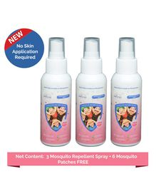 Safe-O-Kid Mosquito Repellent Spray Pack Of 3 - 50ml