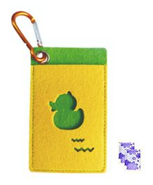 Safe-O-Kid Mosquito Repellent Pouch Duck Design With Two Refills - Yellow