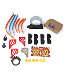 Karma Speed Track Set With Car Multicolor - 26 Pieces (Color And Contents May Vary From Illustration)