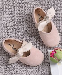 KIDLINGSS Bow Knot Detailed Bellies - Beige