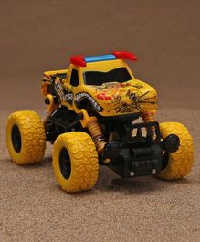 Karma Angry Bull Double Pull Back Climbing Car - Yellow