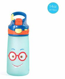 Rabitat Sipper Bottle With Straw Shyguy Print Pink - 410 ml