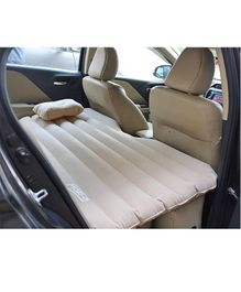 U-Grow Inflatable Car Mattress With Pump & Pillow - Beige