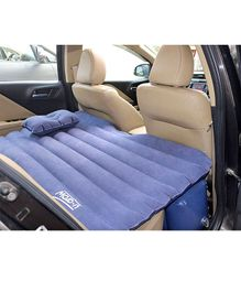 U-Grow Inflatable Car Mattress With Pump & Pillow - Blue