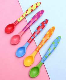 Babyhug Feeding Spoons 2 ml Set of 5 - Multicolor