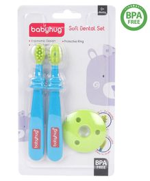 Babyhug Soft Dental Set - Blue Green