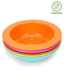 Babyhug Feeding Bowls Set of 5 - Multicolor