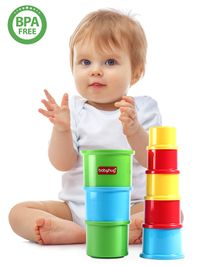 Babyhug Stacking Cups Set of 8 - Multicolor