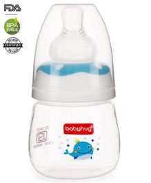Babyhug Anti Colic Feeding Bottle Blue - 60 ml