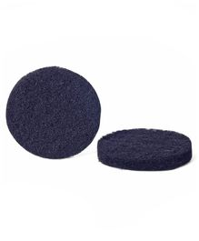 StarPlus Diaper Pail Activated Carbon Filter Pads 2 Pieces - Black