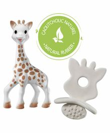 Sophie la Girafe So'pure Teether & Chewing Rubber - White