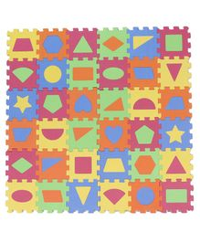 EVA Jigsaw Puzzle Set Multicolor - 36 Pieces