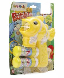 Fish Shaped Bubble Gun - Yellow