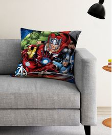 Athom Trendz Marvel Avengers Cushion Cover - Multicolor