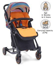 Babyhug Rock Star Stroller Cum Rocker - Orange