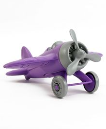 Green Toys Airplane  - Purple