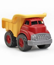 Green Toys Dump Truck - Red Yellow