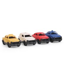 Green Toys Mini Vehicle Pack Of 4 - Multicolor