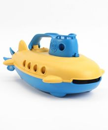 Green Toys Submarine - Blue Yellow