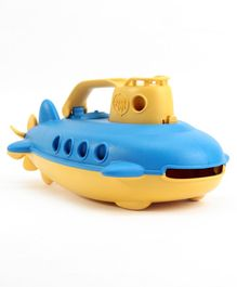 Green Toys Submarine - Yellow Blue