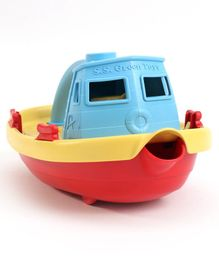 Green Toys Tug Boat - Blue Red