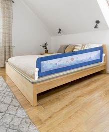 Babyhug Easy Fold Bed Rail - Blue