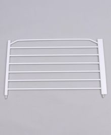 Babyhug Safety Gate Extension White-45 cm