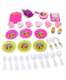 Masha & the Bear Tea Set Multicolor - 31 Pieces