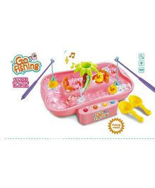 YAMAMA game for kids with Fishes Music,Lights and running water - Pink