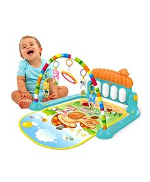 Yamama Kick & Play Musical Keyboard Piano Baby Play Gym - Multicolour