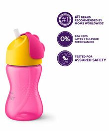 Avent Bendy Straw Cup - 300 ml (Color May Vary)