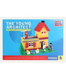 Peacock Smart Interlocking Blocks The Young Architect - 315 Pieces