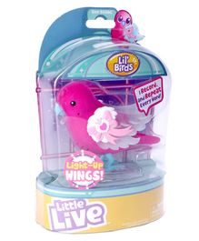Little Live Pets Bow Beams Songbird - Pink