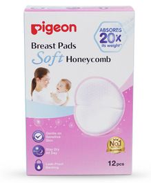 Pigeon Breast Pads Honeycomb - 12 Pieces