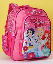 Disney Princess Cute & Sweet Soft Bag Pink - Height 14 Inches