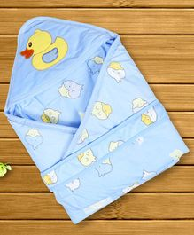 1st Step Hooded Wrapper Duck Patch - Blue