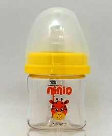 ninio Baby Feeding Bottle Yellow - 60 ml