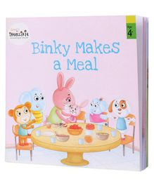 Firstcry Intellikit Binky Makes A Meal Story Book - English