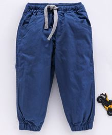 Cucumber Full Length Pant With Drawstring - Royal Blue