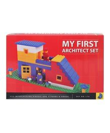 Peacock My First Architect Set Multi Color - 235 Pieces