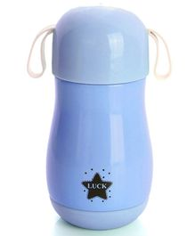 Syga Insulated Steel Water Bottle Star Print Blue - 300 ml