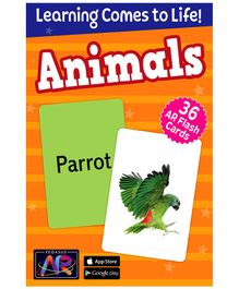 Pegasus Animals AR Flash Cards for Children - 36 Flash Cards